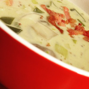 De beroemde mosterd soep Van Jan Bakker.